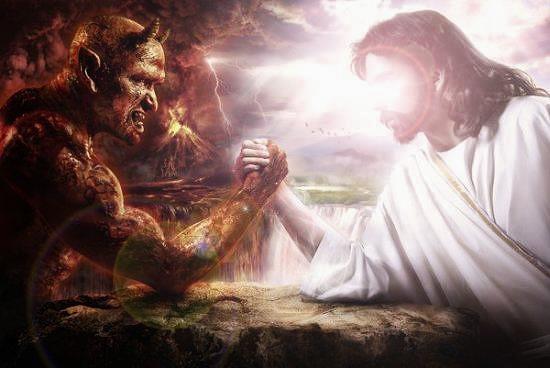 god vs devil wallpaper - photo #13
